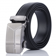 Luxury Men Formal Automatic Buckle Belt Y Pattern