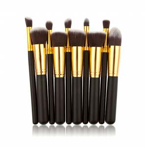 S&Y Professional 10 Pcs Make Up Brushes Set Kit Beauty Cosmetics