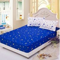 Premium Fitted 3-in-1 Creative Design Queen Size Bed Sheet