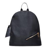 SANDY Oxford Nylon Fashion Backpack Black