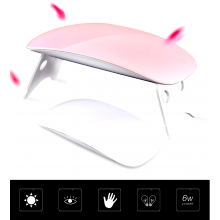 Mini Portable UV Light LED Lamp Nail Dryer 6W LED Nail Lamp Dryer