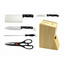SANDY Premium 6 in 1 Kitchen Knife Set