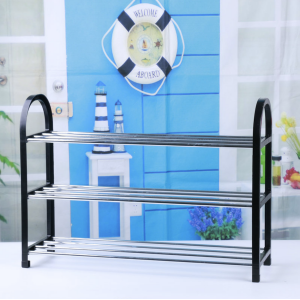SANDYEASY DIY Assembly 3 Tier Shoes Rack