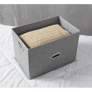 Sandy's Linen Multipurpose Home Organizer Storage With Lid