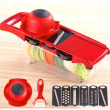 Multifunctional Kitchen Vegetable Fruit Cutter Mandoline Slicer Tool Set