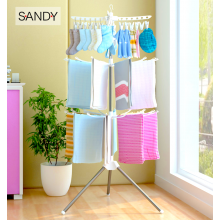 Sandy's Foldable Clothes Drying Rack Portable 3-Tier Laundry Hanging Rack