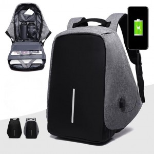Sandy\'s Anti-theft Laptop Bag Convenient Charging Backpack With USB Port