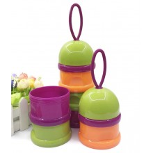 Sandy's 3 Tier Portable Milk Powder Dispenser Container