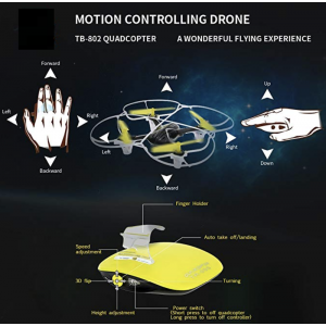 Mini Drone RC Quadcopter with Gesture Control And 3D Flip