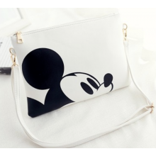 Cartoon PU Leather Envelope Sling Bag With Strap
