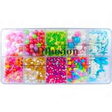 10 in 1 Edible Premix Candy Sprinkles Box Confectionery Deco