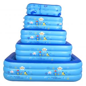 Sandy's 1.2 Meter Inflatable Pool 3 Ring For Indoor and Outdoor