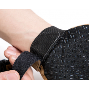 Weight Lifting Gloves with Built-In Wrist Wraps Full Palm Protection & Extra Grip