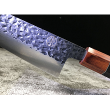 Japanese Hammered Finish Sashimi Sushi Knife With Gift Box