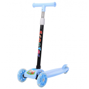 Sandy's Foldable Children Kids Scooter With LED Wheels and Braking System