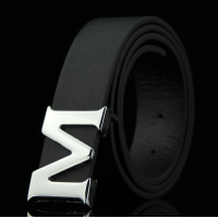 M Reversible Mens PU Leather Belt