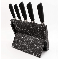 Premium Gourmet Magnetic Knife Block Stand Set Kitchen Knives Holder Single Side Countertop Knife Rack