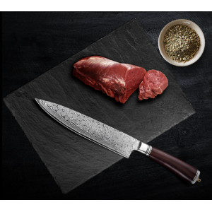67 Layers Raindrops Pattern Damascus Gyuto Kitchen Chef Knife Vegetables Knives