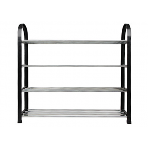 SANDYEASY DIY Assembly 4 Tier Shoes Rack 60cm LONG
